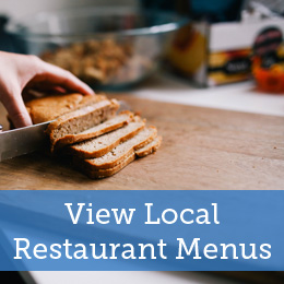 View local restaurant menus