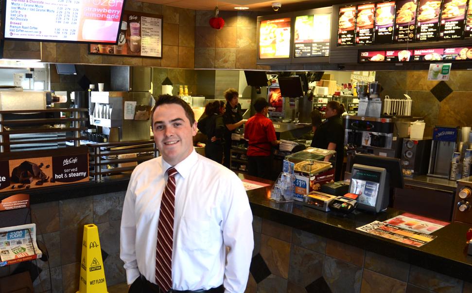 Management capacity mcdonalds restaurant