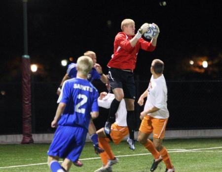 No. 5 men's soccer advances to second round of Division ...