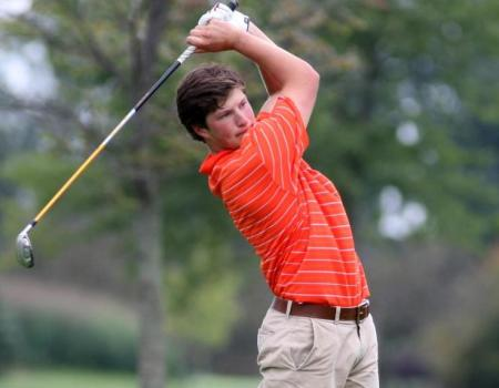 Burns leads men's golf to fourth place finish at Trine ...