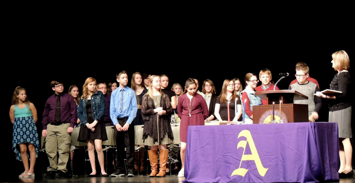 Beta Club inducts new members   The Ada Icon
