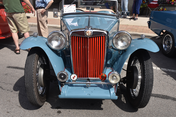 Smittles MG A Bluffton Car Show Winner The Ada Icon - Mg car show