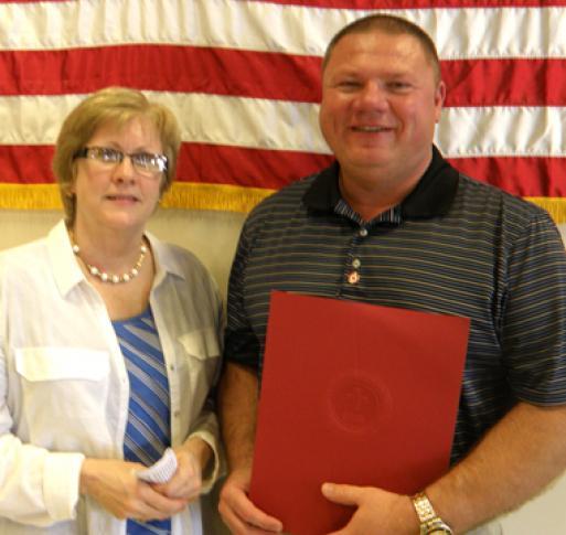 Ada's Don Castle recognized as American Red Cross Hardin
